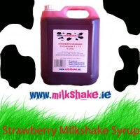 Strawberry Milkshake Syrup